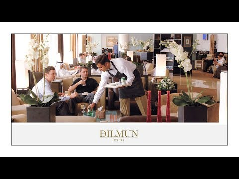 Dilmun Lounge at Manama Bahrain International Airport | Wandering Wanderlust