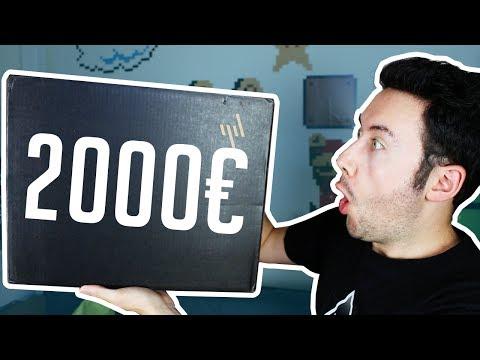 Unboxing PC Portable à 2000€ ! (et il est à gagner)