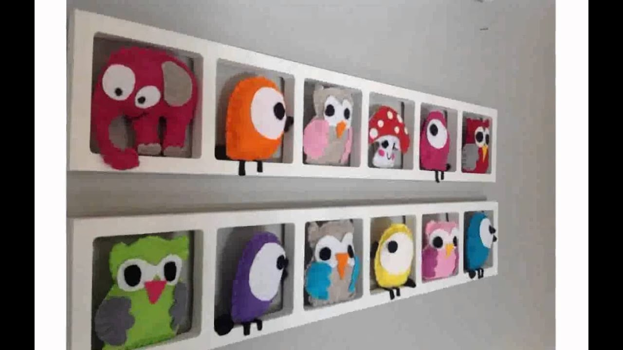 Decoration murale enfant youtube for Decoration murale or