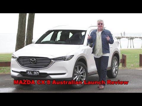 2019 Mazda CX8 australian launch Review