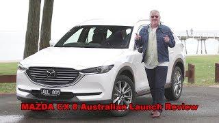 Mazda CX8 australian launch Review