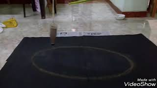 Pendulum drawing try this at your home.