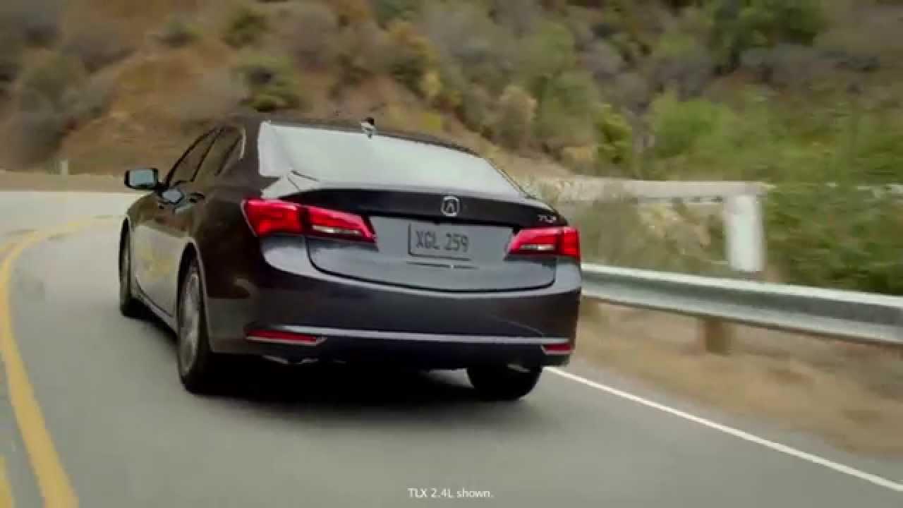 Acura - 2015 TLX - 4 Cylinder Powertrain - YouTube