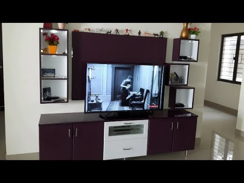 Black Currant White Colour High Gloss Finish For Ramya Modular