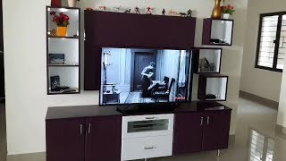 Black Currant & White Colour High Gloss Finish for Ramya Modular Kitchen, Mr  Kodeeswaran  Selaiyur,