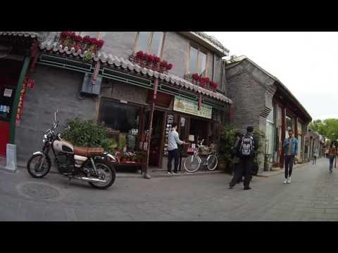 Walking around Nanluoguxiang in Beijing