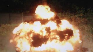 Взрыв выпрыгивающей мины ОЗМ-72.    замедленное видео.(http://dveri.com.ua/ Замедленная сьемка выпрыгивающей мины ОЗМ-72. Это противопехотная мина советского производства...., 2016-08-10T11:01:31.000Z)