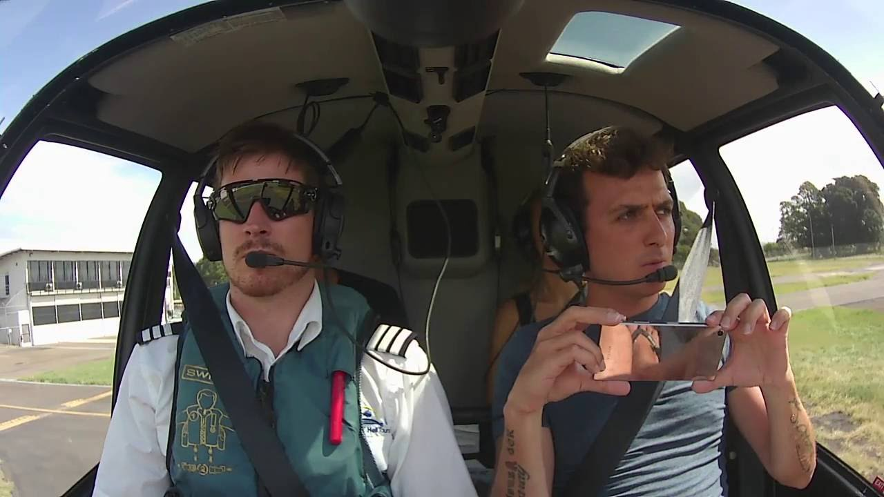video Sydney Harbour Scenic Helicopter Flights