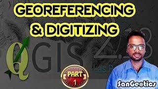 How to Georeference in QGIS | Sanjib Mandal | SanGeotics
