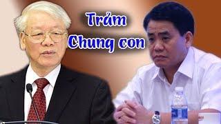1 tuần sau khi công an Đông Anh bỉu tình, CT Hà Nội Nguyễn Đức Chung chính thức bị trảm