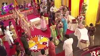On location of TV Serial 'Madhubala' 'Haldi ceremony of Madhu & R K'