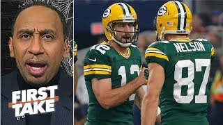 Aaron Rodgers should never be criticized by former teammates  Stephen A  First Take