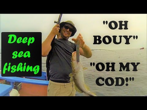 Deep SEA FISHING | Boat Fishing From Whitby. Catch And Cook!