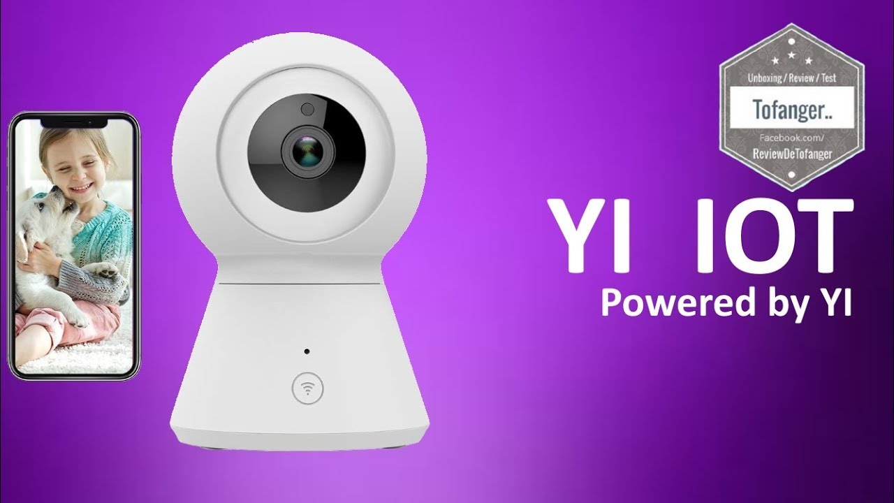 Camera Surveillance Exterieur Fnac Yi Iot Surveillance Wifi Wifi Dome Camera 1080p Powered By Yi Unboxing