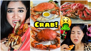I only ate CRAB for 24 HOURS Challenge! Nilanjana Dhar | India