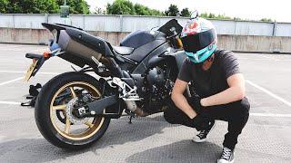 MY NEW MOTORBIKE!! - YAMAHA R1