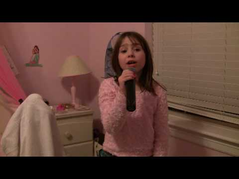 Me Singing Party In The USA by Miley Cyrus - Leah Thompson 7 y/o 11-28-09