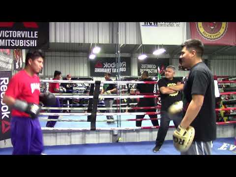 mikey garcia working mits gets ready to feb 10 EsNews Boxing