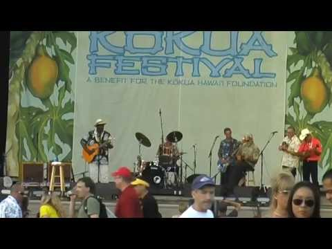 Taj Mahal and the Hula Blues Band 4-23/24-2010 Kokua Festival,  Waikiki Shell,  Honolulu, HI