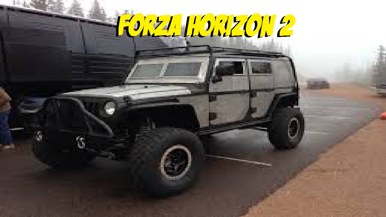 Forza Horizon 2 Fast and Furious 7 DLC - UNLOCKING THE JEEP WRANGLER