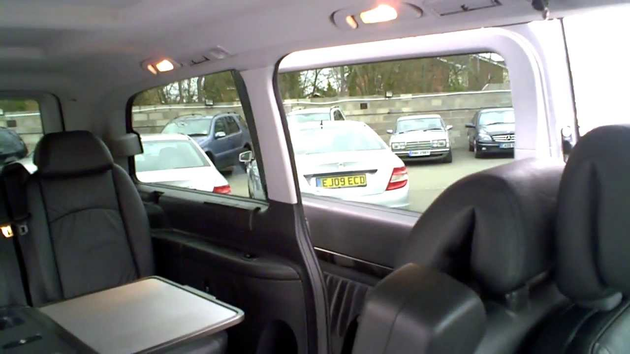 7 Seater Vehicles >> 2008(08) MERCEDES VIANO 2.2 CDI AMBIENTE COMPACT AUTO ...