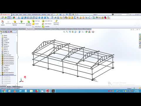 CREATING SHEET METAL SRTUCTURE FOR SHEET METAL SHED
