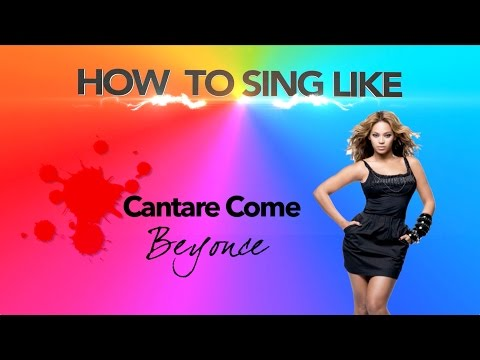 How to Sing like Beyonce (sub eng)