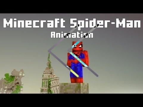 Reverse - niknikamtv - minecraft spider-man animation