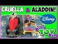 Aladdin, Jasmine & Cruella De Vil Fisher-Price Disney Little People! Review by Bin's Toy Bin