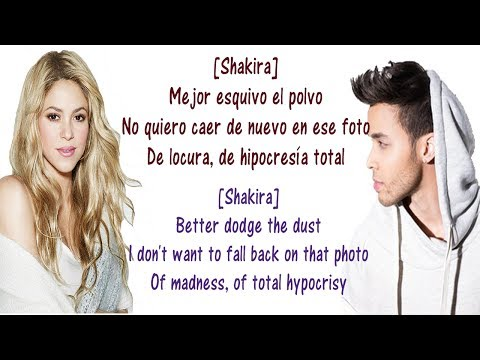 Prince Royce, Shakira  Deja Vu  Lyrics English and Spanish  Deja Vu  Translation & Meaning