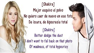 Prince Royce, Shakira - Deja Vu - Lyrics English and Spanish - Deja Vu - Translation & Meaning
