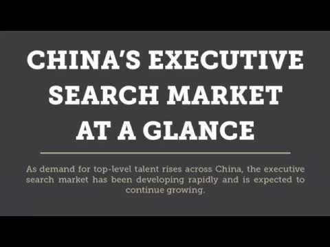 The Evolution of China's Executive Search Industry