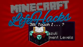 Repeat youtube video Get Silk Touch! CHOOSE your ENCHANTMENT, get any Enchant you want! Minecraft Life Hacks [2015][1.8]