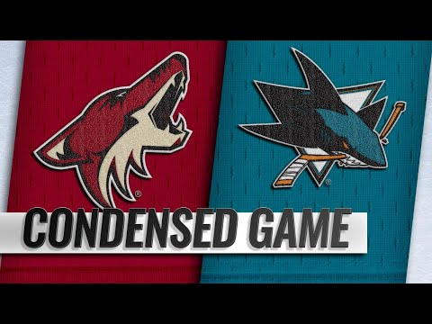 12/23/18 Condensed Game: Coyotes @ Sharks