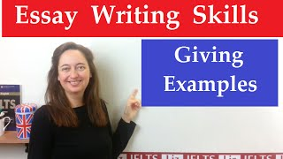 IELTS Writing Tips: How to Put Examples in Your Essay thumbnail