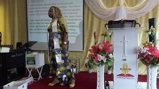 Preaching Pastor Rachel Aronokhale AOGM Choir Anniversary 2018