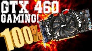 Jugando en una Nvidia GTX 460 al 100% (benchmarks)