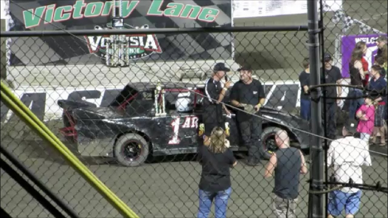 Racing Mini Stocks Feature Race Volusia Speedway