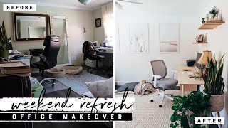DIY Office Makeover | Easy Weekend Refresh for My Parents