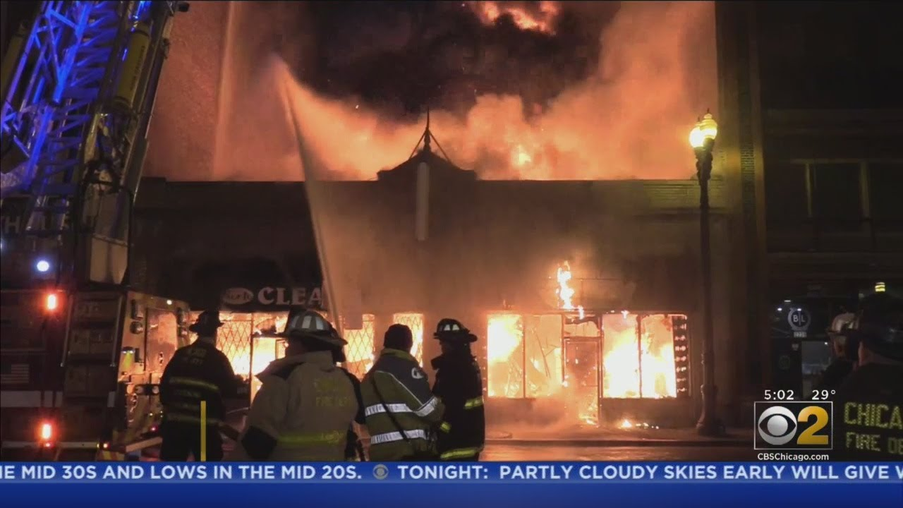 'Total Loss' After Fire Spreads To South Loop Dry Cleaners, Yoga Studio