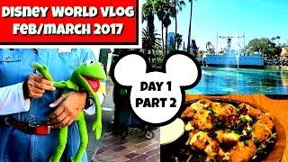 Disney World vlogs 2017 : Day 1 part 2 | Disney's Hollywood Studios