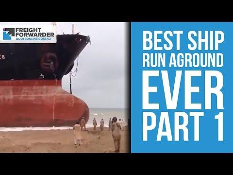 Best ship run aground - part 1