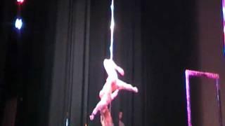 Sally-Ann Giles European Pole Dancing Championship 2011