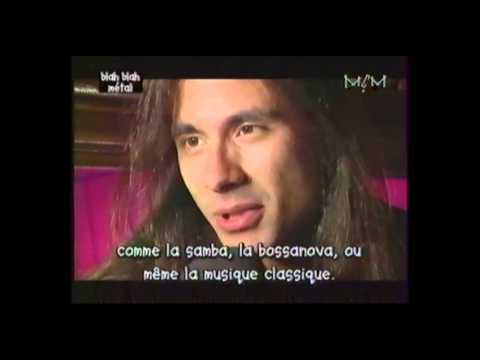 Angra - 1996 - Live Sao Paulo, Interview Andre Matos - MCM