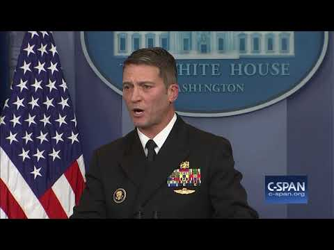 """""""The president's overall health is excellent."""" (C-SPAN)"""