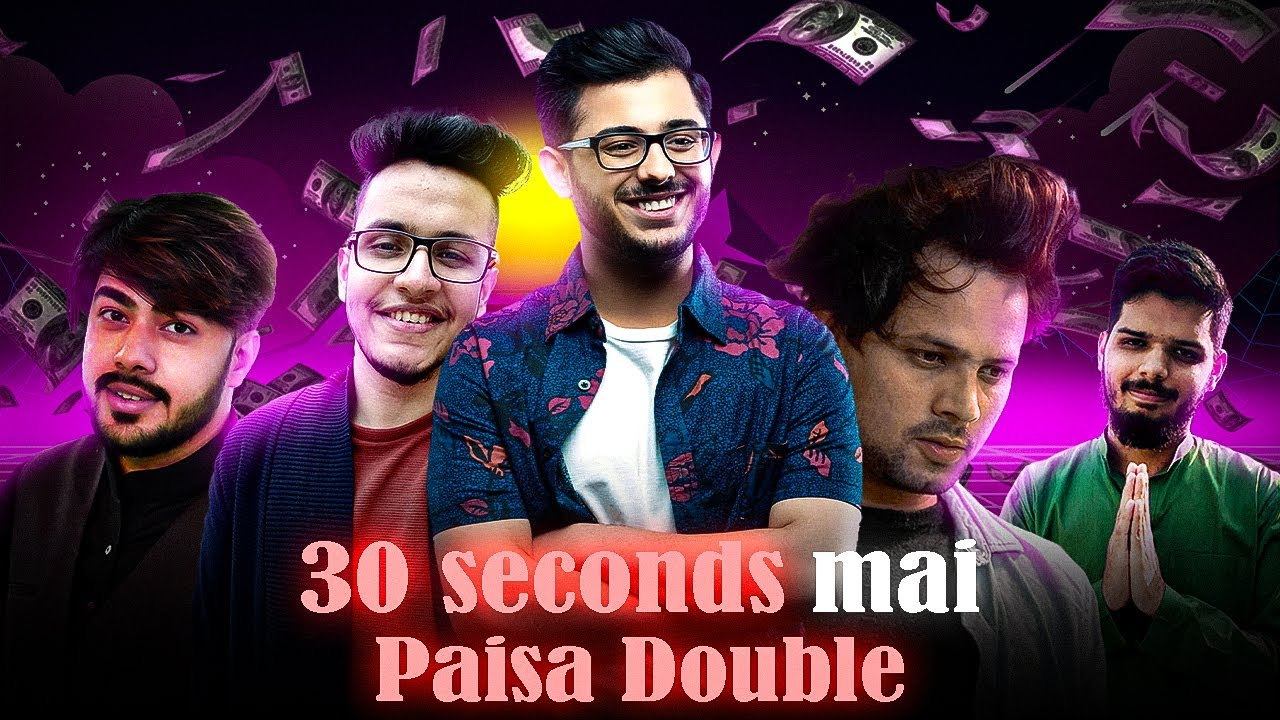 Biggest Scam In YouTube India. @CarryMinati @Triggered Insaan @Round2hell @Lakshay Chaudhary