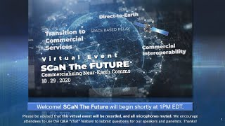 SCaN The Future: A Virtual Event - A Presentation