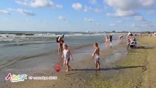 Анапа, пляж центральный 17 сентября 2016 года(Анапа, центральный песчаный пляж и пляж возле речки Анапки, 17 сентября 2016 года. Фотографии центрального..., 2016-09-18T18:22:56.000Z)