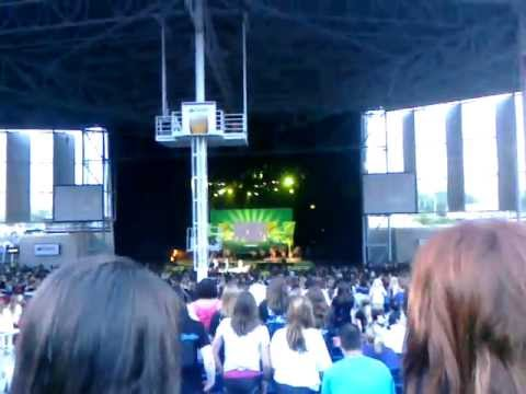Start The Party (Live) - Camp Rock 2 Cast @ Molson Canadian Amphitheatre Toronto 2010