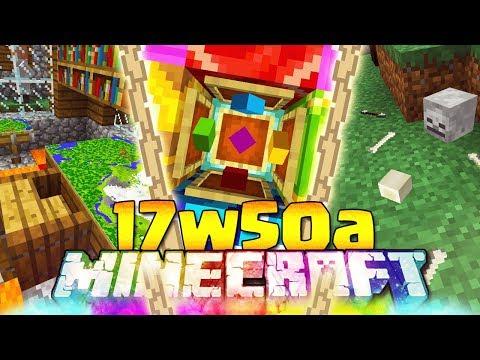 FINALMENTE ITEM FRAME ORIZZONTALI - Minecraft ITA - 17w50a: Versione 1.13